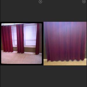 5pier one velvet sunblock curtains thick & plush